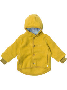 Disana Boiled wool jacket - yellow