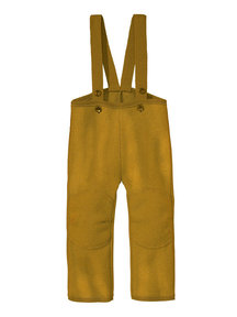 Disana Dungarees Boiled Wool - gold