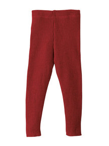 Disana legging van wol - bordeaux