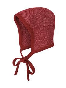 Disana Bonnet Merino Wool - Bordeaux