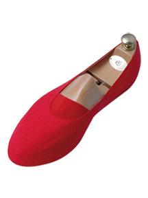 Mykts Euritmie schoentje - rood