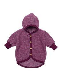 Cosilana Jacket Wool Fleece - burgundy