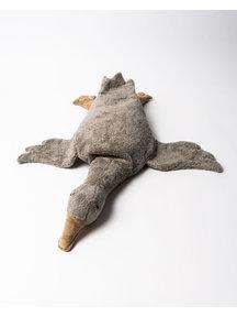 Senger Warmte knuffel gans  - grijs (vegan)