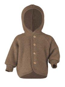 Engel Natur Wool fleece jacket - walnut