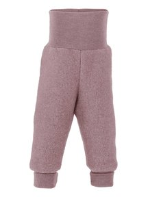 Engel Natur Trousers Wool Fleece - woodrose