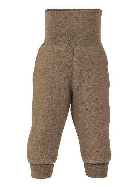 Engel Natur Trousers Wool Fleece - walnut