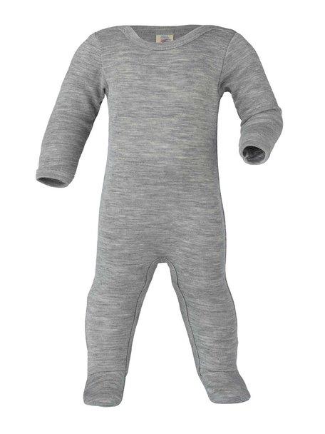 Engel Natur Boxpakje/pyjama van wol/zijde - grijs