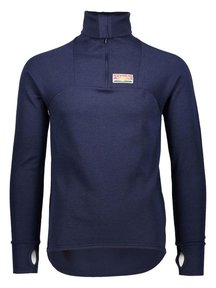 Ruskovilla Outdoor shirt unisex van wol - blauw