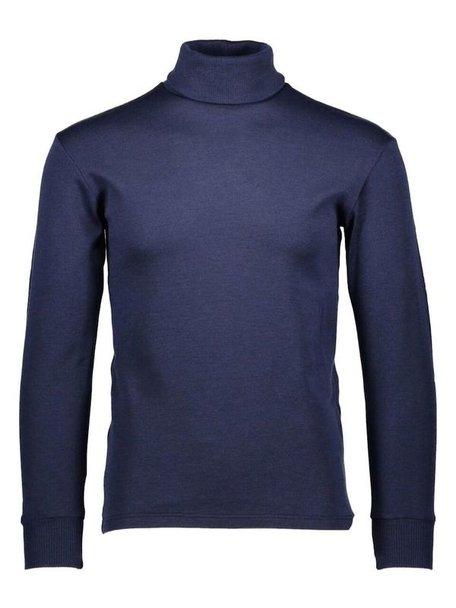 Ruskovilla Turtleneck unisex merino wool - blue