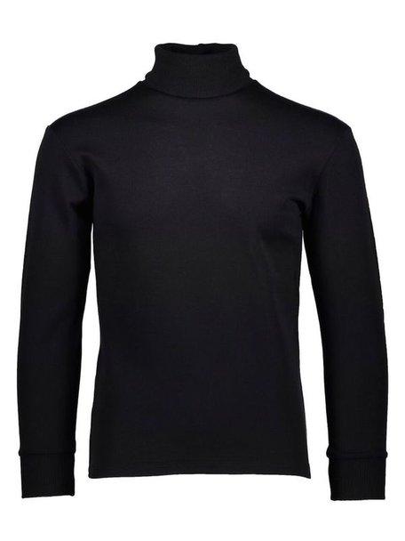 Ruskovilla Turtleneck unisex merino wool - black