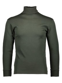 Ruskovilla Turtleneck unisex merino wool - green