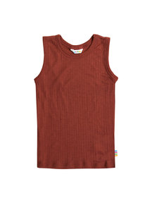 Joha Undershirt kids wool - maroon (Limited Edition)