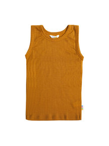 Joha Undershirt kids wool - ochre  (Limited Edition)