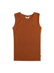 Joha Undershirt kids wool - rust (Limited Edition)