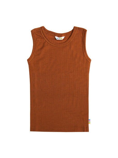 Joha Undershirt kids wool - rust (pre-order)