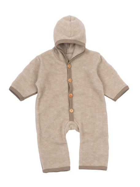 Cosilana Wool Fleece Overall - beige