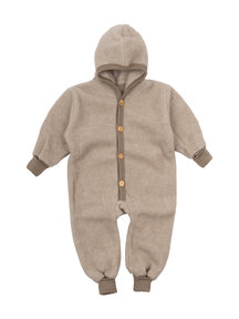 Cosilana Wool Fleece Overall - beige