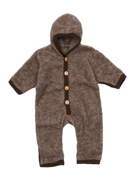 Cosilana Wool Fleece Overall - brown