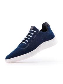 Baabuk Urban wooler unisex - blauw