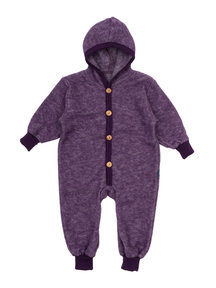 Cosilana Wool Fleece Overall - purple