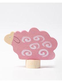 Grimm's Decorative Figure lying sheep