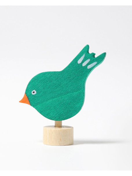 Grimm's Decorative Figure pecking bird