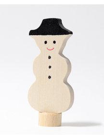 Grimm's Decorative Figure snowman