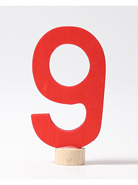 Grimm's Decorative Figure - number 9