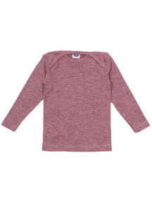 Cosilana Baby Top Wool/Silk/Cotton - Burgundy