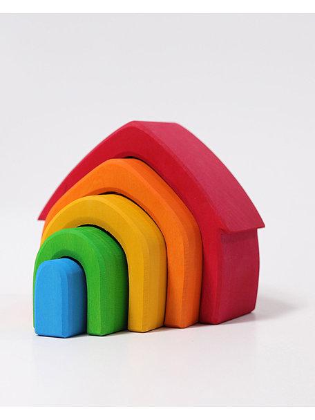 Grimm's Huisje - regenboog