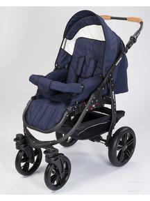 Naturkind Kinderwagen Varius Pro dark blue - basis model