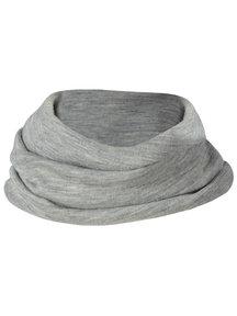 Engel Natur Loopsjaal van wol/zijde - grijs
