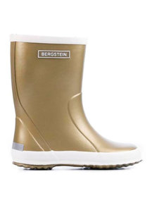 Bergstein Rainboots natural rubber - gold