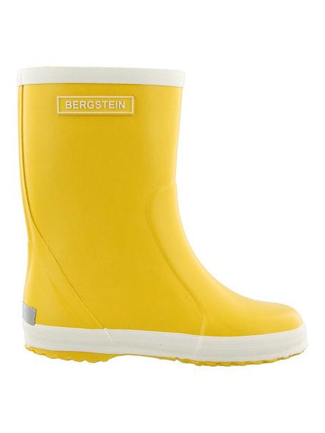 Bergstein Rainboots natural rubber - yellow