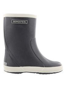 Bergstein Rainboots natural rubber - dark grey