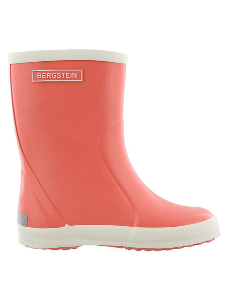 Bergstein Rainboots natural rubber - coral