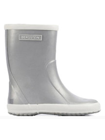 Bergstein Rainboots natural rubber - silver