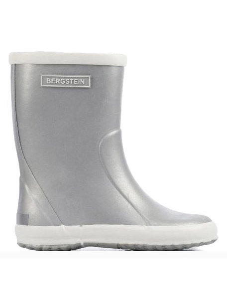 Bergstein Rainboots natural rubber - silver