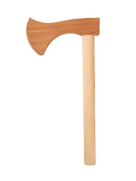 VAH Speelgoed hakbijl van hout