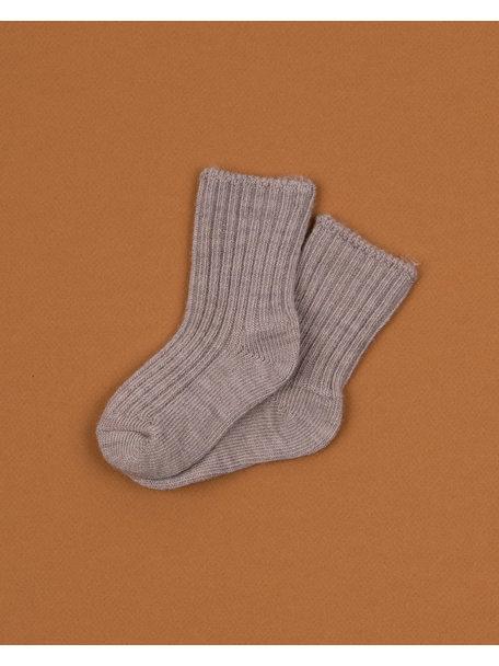 Joha Dikke wollen sokjes - sesame