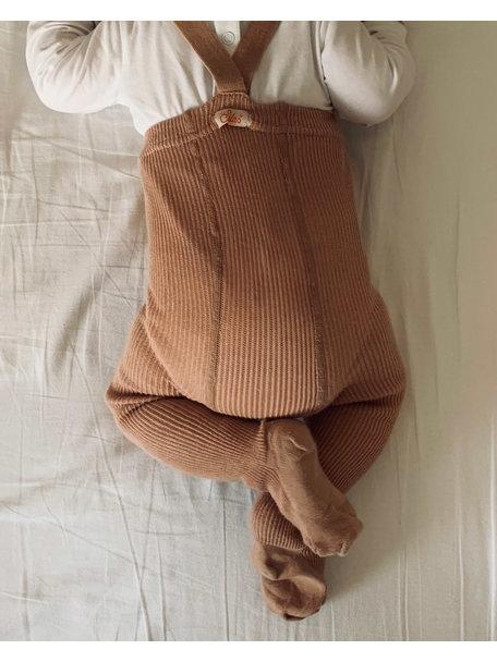 Silly Silas Maillot met bretels van katoen - light brown