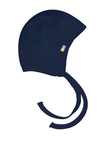 Joha Bonnet of wool - dark blue