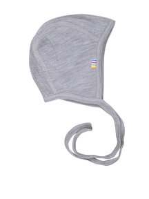 Joha Bonnet of wool - gray