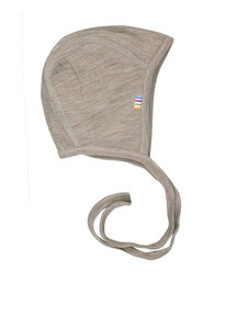Joha Bonnet of wool - sesame