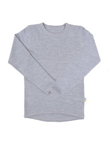 Joha Kids longsleeve wool - gray
