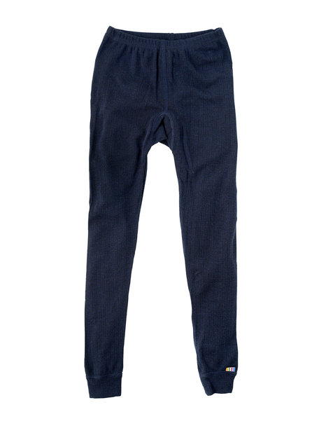 Joha Legging from wool - dark blue