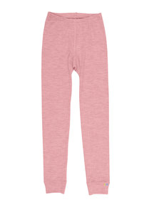 Joha Legging van wol - oud roze