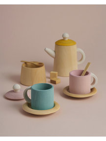 Raduga Grez theeset van hout - pastel