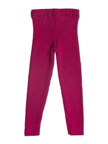 Reiff legging van wol - roze