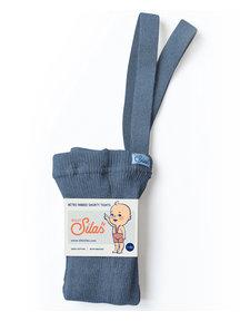 Silly Silas Maillot met bretels en korte pijpjes - steel blue